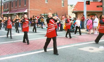 Baton Twirling in Newark, Delaware
