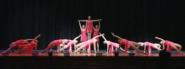Dance recital in Delaware