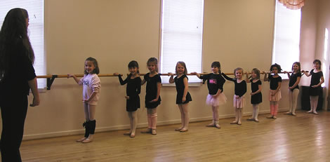 Dance classes for girls and boys